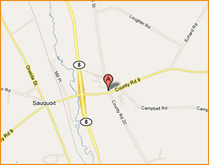 Sauquoit - Map and Driving Directions